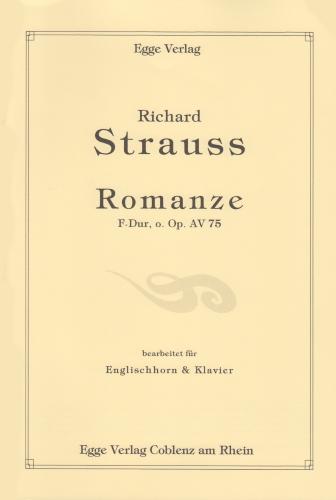 ROMANZE in F Op.AV75
