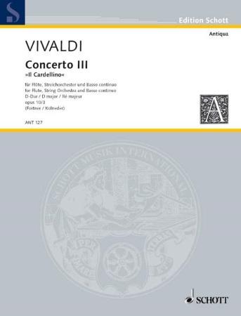 CONCERTO in D major Op.10 No.3 'Il Gardellino' (score)