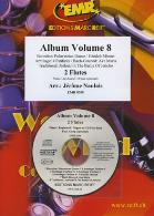 ALBUM FOR FLUTE DUET Volume 8 + CD
