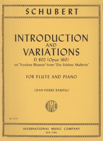 INTRODUCTION AND VARIATIONS Op.160, D802