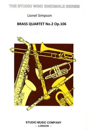 BRASS QUARTET No.2 Op.106 (score & parts)
