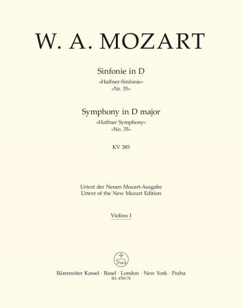Symphony No.35 - Violin 1