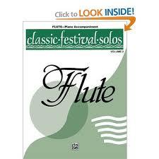 CLASSIC FESTIVAL SOLOS Book 2 flute part