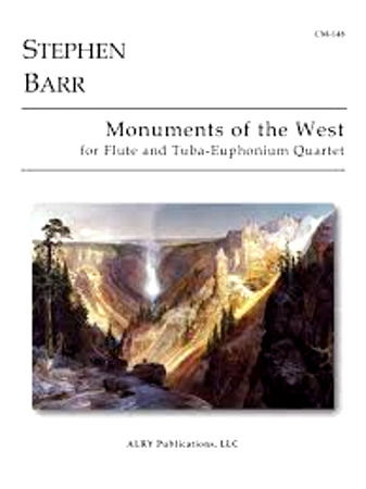 MONUMENTS OF THE WEST (score & parts)